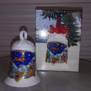 Hutschenreuther - Weihnachtsglocke 1979, Alpenland Steinbock, design Ole Winther