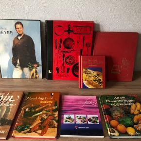 Diverse kogebøger, 10-20 kr pr stk