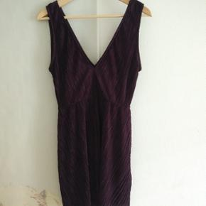 HM purple dress
