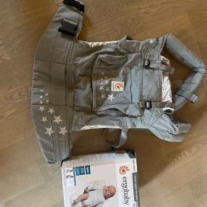 Ergobaby bæresele inkl. babyindsats. Næsten ikke brugt.