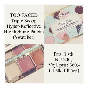 Brand: Too Faced  Varetype: Hyper-Reflective Highlighting Palette Farve: Flere  Kun swatchet - stadig i æske.