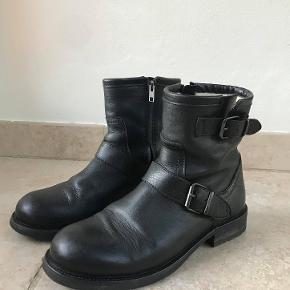 Fede Billi Bi støvler i læder og med for  - Skrive endelig, hvis du har spørgsmål :)