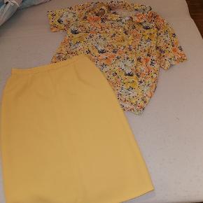 Nederdel str s t shirt løs for, brugt sammen Vintage