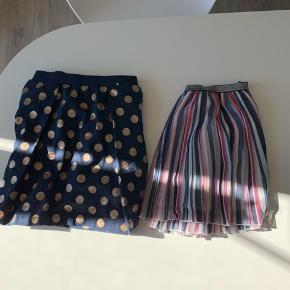 Nederdelene sælges sammen til 100kr