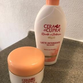 Anbefalet af forsidefrue Karina😊 God til moden hud ( læs mere på www. Ceradicupra.dk )  Rens aldrig brugt, creme prøvet 3 aftener.  Købt for ca 3 uger siden😊