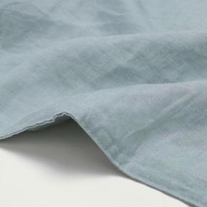 Pudebetræk i 100% vasket hør støvet grøn str. 50x90 Pude medfølger ikke