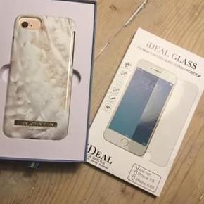 Helt nyt og aldrig brugt, smukt mobil cover og skærmbeskytter fra iDEAL OF SWEDEN til IPhone 6. Prisen er for begge dele og sælges kun samlet.