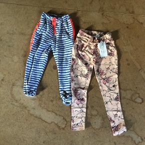 1 par spritnye bukser med prismærke, str 1221 par bukser, brugt og vasket 1 gang, str 116 Begge fra Name It  Sender gerne, på modtagers regning :)
