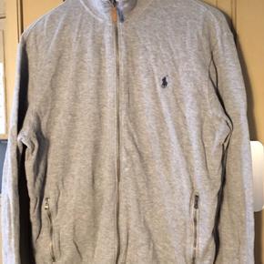 Super pæn cardigan lignede bluse fra Ralph Lauren med en lille krave