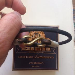 Læderarmbånd fra Nezumi Denim co.