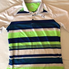 Polo golf t-shirt fra puma. Det er str 164 eller 13-14 år.