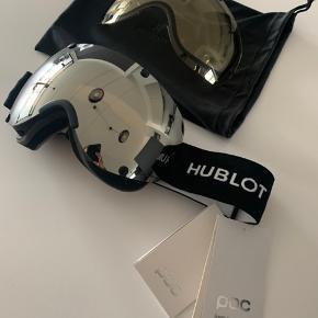 Helt nye Hublot ski goggles, lavet i samarbejde med POC. Alt på billedet medfølger.