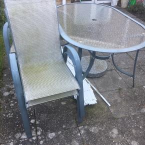 Havemøbler, Sæt  fejler intet Skal bare have en rengørings tur. 👍