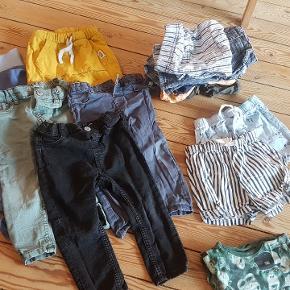 Indeholder: 5 x bukser 8 x shorts 2 x skjorter 3 x trøjer 4 x betalt 7 x body