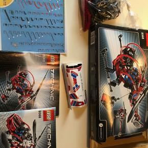Lego Technic model 8068:  Helikopter - 2 modeller i én. Sættet er aldrig samlet, men er pakket ud. Originale instruktioner og ubrugte klistermærker medfølger naturligvis. Sættet er kontrolleret og alle dele er inkluderet.  Prisidé dkk 100,00 - kom gerne med et seriøst bud :-)