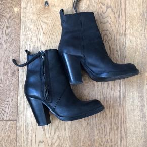 Colt by Acne - high ankle boot, a variation on the classic Pistol Short boot.