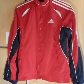 Adidas Jakke / Sweater, str. M - Retro overdel fra Adidas, standen er generalt god - Bud er velkomne👍