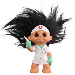 """Sødeste """"Sygepleje/læge"""" trold 🥳 Er aldrig brugt og fremstår som ny."""