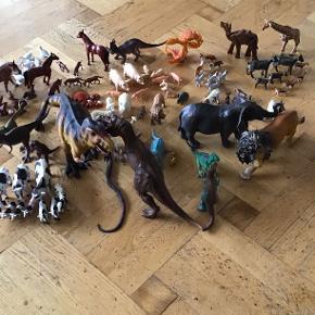 Schleich og andre blandede dyr sælges samlet
