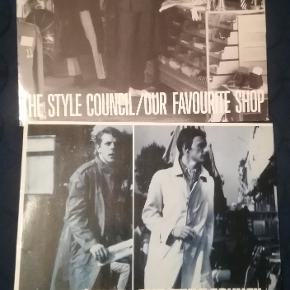 2 fede plader med The Style Council Meget god stand Prisen er for de to samlet