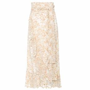Flynn lace skirt I farven vanilla ice.