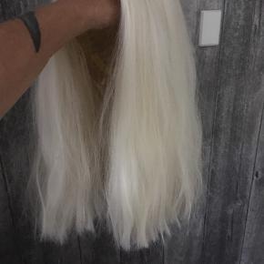 Paryk ikke ægte hår Men go kvalitet