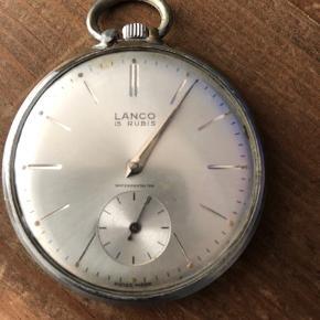 Gammelt velholdt lommeur af mærket Lanco 🌸