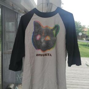 Sælger denne Odd future baseball trøje. Den er en stor L men fitter som en M