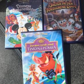 Disney film. Pris pr stk - alle 3 for 50 kr.