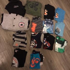 Mega fedt blandet tøj fra Hummel, Converse, G-Star, Danefæ og Paul Frank