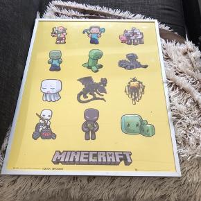 Minecraft billede mål 51 høj 41 bred kom med et bud 😊