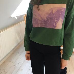 Cool sweatshirt fra Weekday!  BYD!