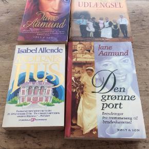 Fire gode bøger.  Se billedet...  For alle fire pris : 60,-kr