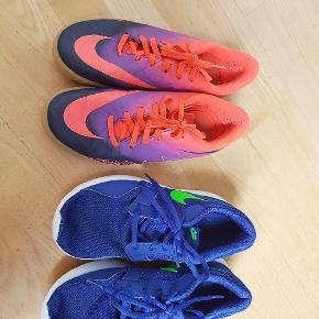 2 par Nike (blå str 36, rød str 36.5)