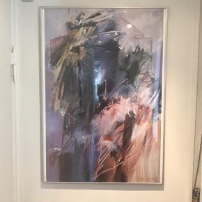 Billede inkl aluramme sælges.  71 x 104 cm Afhentning i Valby