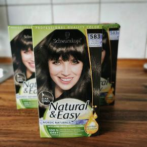 3 helt nye hårfarver, sælges da jeg ikke skal bruge den alligevel. Bud er velkomne 🌸