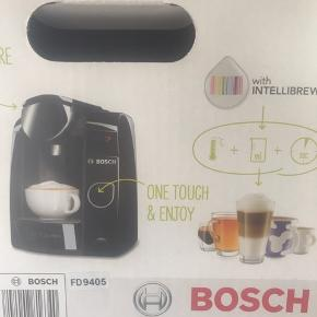 Bosch tassimo with intellibrew aldrig brugt