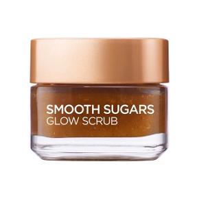 L'Oréal Paris L'Oréal Sugar Scrub Glow Grape Seed 50 ml. Sælger denne populære scrub, da jeg ikke får den brugt. Der er taget minimalt af den, har brugt lidt af det i toppen af glasset, der er ikke taget af scruben der er i selve glasset. Ny pris i Matas var 79,95.  Info fra Matas egen side: Smooth Sugars Glow Scrub. Sukkerscrub, som renser huden og giver glød. Indeholder 3 fine sukkerarter af 100% naturlig oprindelse, acaipulver, druekerneolie og monoi-olie, som er kendt for sine plejende og fugtgivende egenskaber. Anvendes på ansigt og læber.  OBS: læs evt de gode anmeldelser på Matas siden.