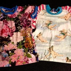 Varetype: T-shirt 2 stk. Farve: Lyseblå lyserød Oprindelig købspris: 460 kr.  2 smukke t-shirts i retro print fra molo, pæne og velholt, kun brugt et par gange, NSNY  Sælges samlet til kun 180 pp, enkeltvis 100 pp  Sendes forsikret med SwipBox, køber betaler forsendelse og TS gebyr hvis THS ønskes. Ønskes PostDanmark brev forsendelse ved handel gennem trendsales betaler køber altid for indleverings attest til 14 kr, dette er ikke til debat  Der kan afhentes i skovlunde og betales med mobilePay/bank, gebyr og attest kan spares 👍  1