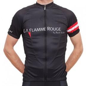 La Flamme Rouge cykeltrøje. Lavet i samarbejde med og designet af Paul Smith.