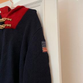 Lækker Ralph Lauren strik i uld. 55%merinould, 45%uld.