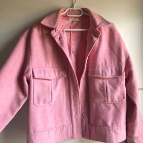 Den populære ganni hawthorne wool jacket