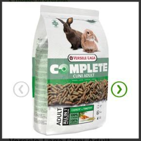KANINPILLER/ KANINFODER  Versele Laga Cuni Adult Complete (kvalitetsfoder til kaniner) sælges i Esbjerg.    2x 8kg poser (uåbnet og mht 22.11.19) og 1 åbnet pose med ca 4kg.    Sælges til 450kr samlet og kan leveres i Esbjerg.  Pris hos zooplus 269kr/pose!