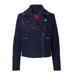 biker jakke i bomuld - virkelig god kvalitet fra Edith & Ella. Brugt få gange.