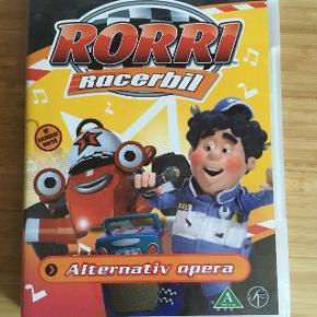 Rorri racerbil tegnefilm dvd - fast pris -køb 4 annoncer og den billigste er gratis - kan afhentes på Mimersgade 111 - sender gerne hvis du betaler Porto - mødes ikke ude i byen - bytter ikke