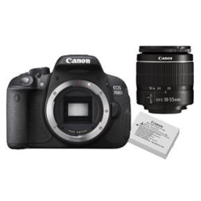 Sælger mit Canon EOS 700d med flip ud skærm m. Standard linsen. Meget godt til video optagelse og billeder.  Brugt meget få gange. Så god som ny :)  Kameraet har en vipbar touch-skærm, som er nem at bruge Alt medfølger np: 5000,- Bin 2600kr Vil gerne af med det asap da det bare står herhjemme og samler støv - fragt betales af køber - tager ikke retur