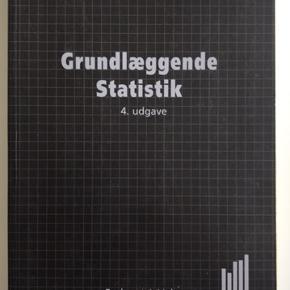 Grundlæggende Statistik (4. udgave), Jan Laursen & John Vestergaard Olesen.   Der er lavet overstregninger, men ikke noter.   Kan hentes i København eller Roskilde.