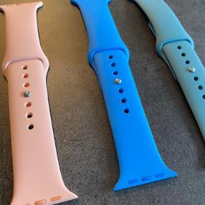 Originale Apple Watch Bands Passer til alle Apple Watch i str. 42/44 mm.  Det er uden den korte del af remmene.  Prisen er pr. stk.