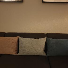 Kun pyntet i sofaen 3 puder m. Betræk kantnordic Kvittering haves  Evigheds garanti