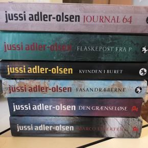 BYD GERNE 🌸 BYTTER IKKE Jussi Adler Olsens afdeling Q bøger. Sælges samlet til 175 kroner eller enkeltvis 40 kroner.   SENDER MED DAO 🌸 KØBER BETALER PORTO
